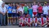 Le tour cycliste féminin dans la traversée de Jaujac