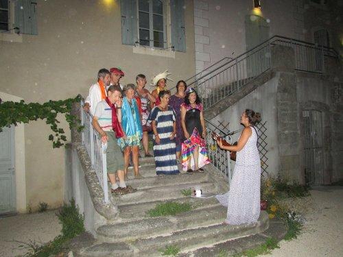 Une belle balade contée et musicale à travers le monde… sur  les chemins de Jaujac !