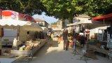 Le marché du 15 août: un marché de vogue