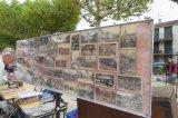 Le vide grenier sur la place du Champ de Mars