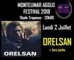 Concert d'Orelsan à Montélimar