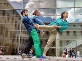 Un spectacle chorégraphique sur la place du Champ de Mars, vendredi 4 mai