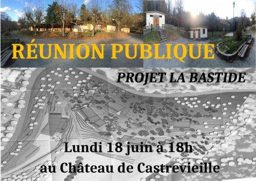 Réunion Publique Projet La Bastide