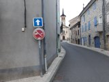 Circulation rue du Trible