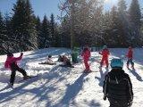 L'école primaire sur les pistes